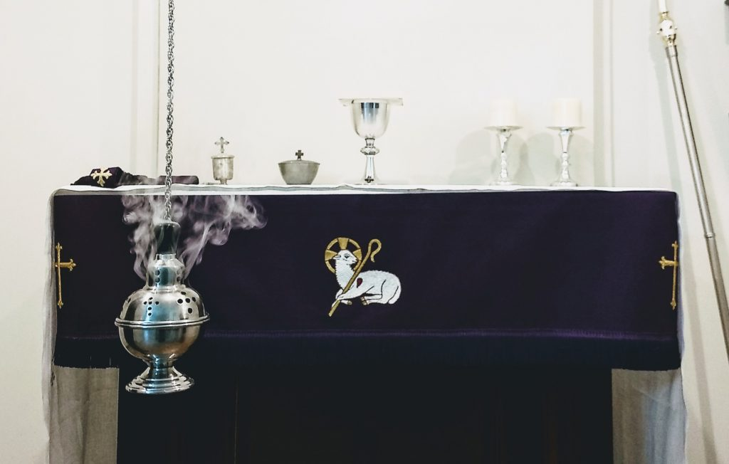 Let my prayer be set forth before thee as incense; and the lifting up of my hands as the evening sacrifice.
