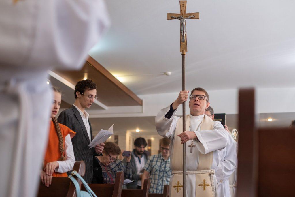 Easter in Novosibirsk